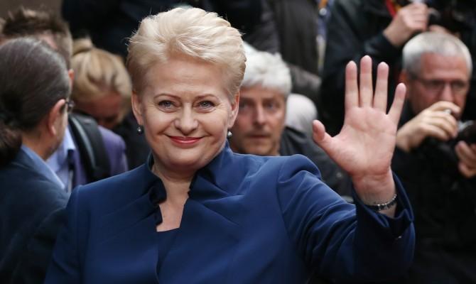 АП: государство Украину вначале зимы посетит президент Литвы Грибаускайте