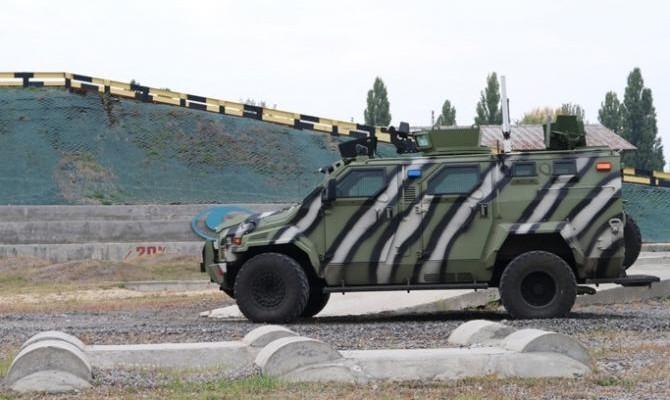 ВУкраинском государстве испытали 1-ый беспилотный броневик КрАЗ