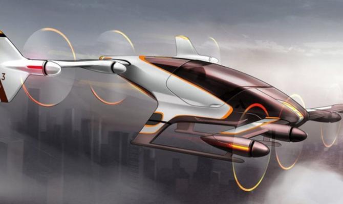 К 2020г появятся беспилотные летающие такси