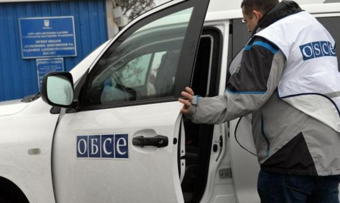 ОБСЕ снова заявляет оботсутствии доступа кучасткам разведения сил наДонбассе