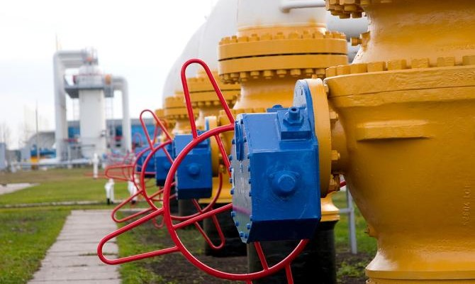 Украина отобрала изПХГ 22 млн куб. мгаза засутки