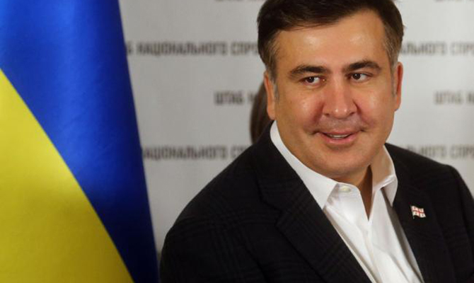 Саакашвили принял решение уйти вотставку сдолжности губернатора Одесской области