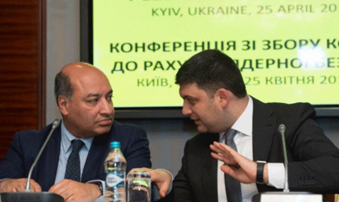 Гройсман обсудил сглавой ЕБРР Чакрабарти инвестиции иприватизацию вУкраине