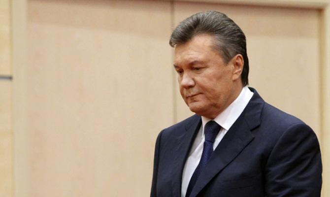 Янукович сказал, как нехотел усаживаться нашпагат