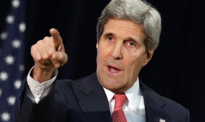 Керри заявил, что США помешали Путину захватить Киев