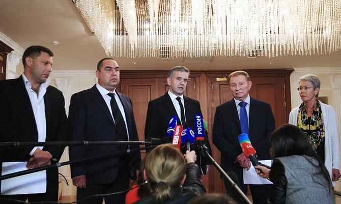 Освобождение заложников является приоритетным для Минска— Геращенко