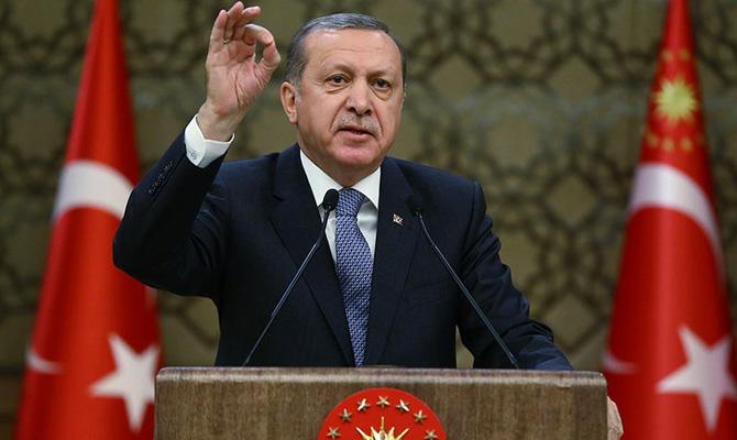 Эрдоган предложил Путину отказаться отдолларов всделках Российской Федерации иТурции