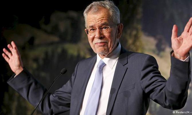 Президентские выборы вАвстрии одержал победу независимый кандидат ван дер Беллен