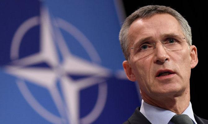 Члены НАТО никогда непризнают аннексию Крыма,— Столтенберг