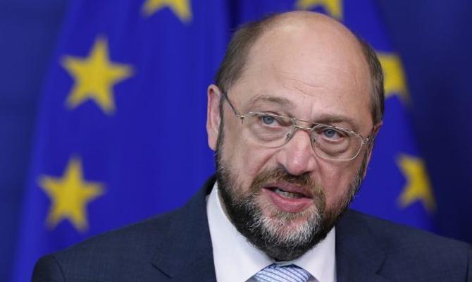Шульц отверг возможность вступления Украины вЕС