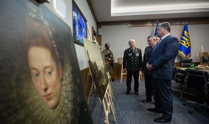 Украина сообщила Италии найденные картины, который были похищены измузея Вероны