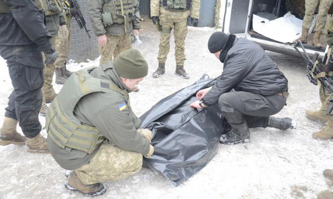ВСчастье украинской стороне передали тела погибших наСветлодарской дуге