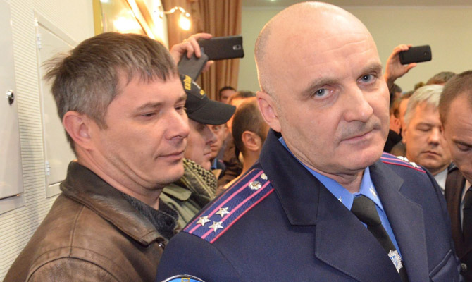Новый руководитель милиции Черкасской области спровоцировал потасовку