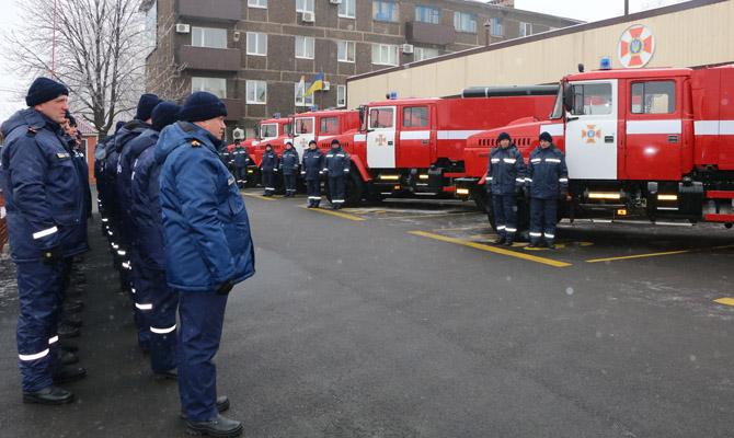 Уздания МВД вКиеве прошла акция «Казино внутренних дел»