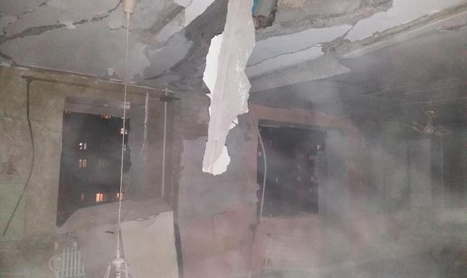 ВСумах вжилом доме произошел взрыв: погибла престарелая женщина
