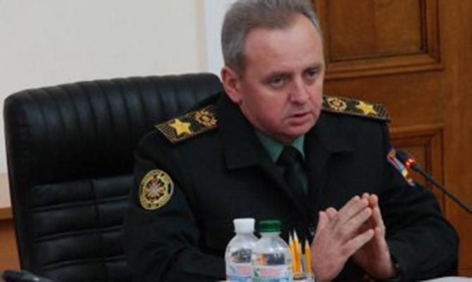Муженко назвал основные  задачи поподготовке спецназа на 2017-й