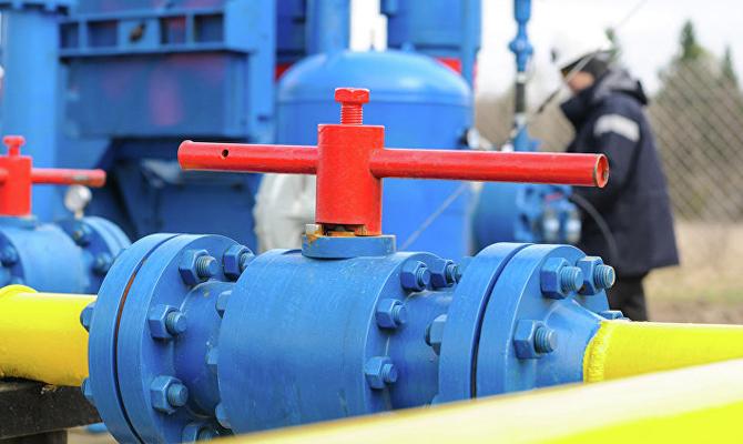 Украина начала получать газ отфранцузской Engie