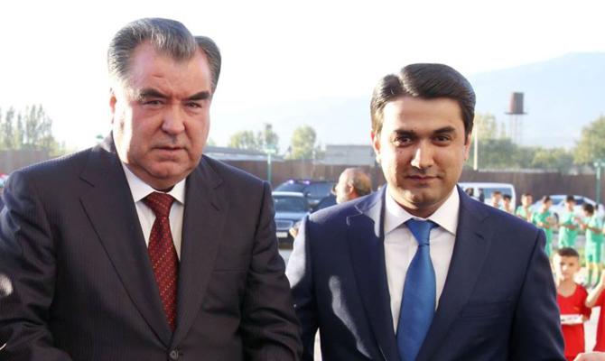 Сын президента Таджикистана стал мэром Душанбе