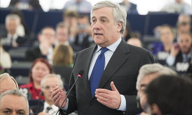 Новым главой Европарламента стал итальянец Таяни
