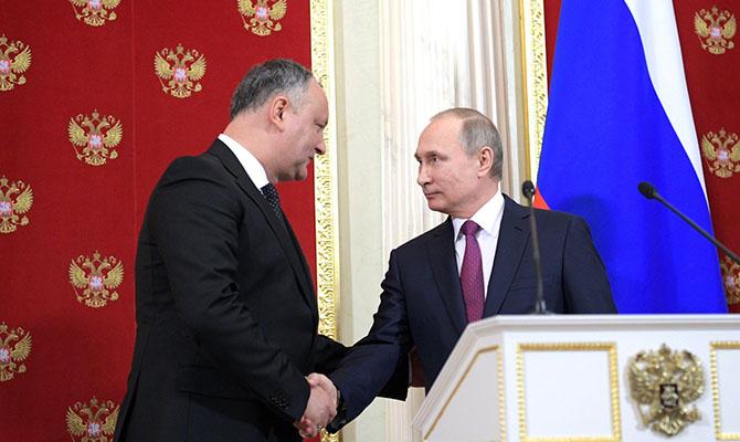 Премьер Молдовы: Додон неможет принимать решение поассоциации сЕС