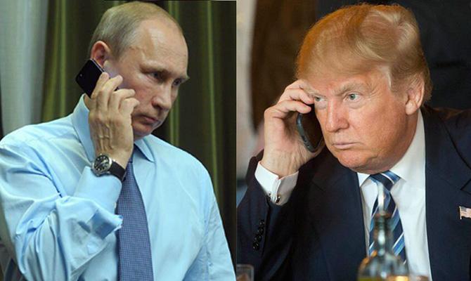 Стало известно четкое время, вкоторое состоится телефонный разговор Владимира Путина иТрампа