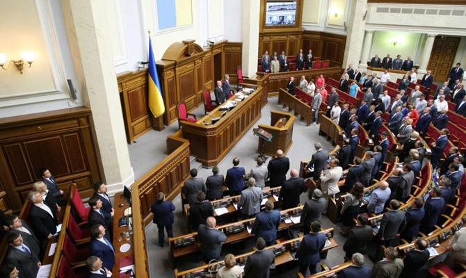 Совещание Рады закрылось преждевременно из-за нехватки нужного числа депутатов взале