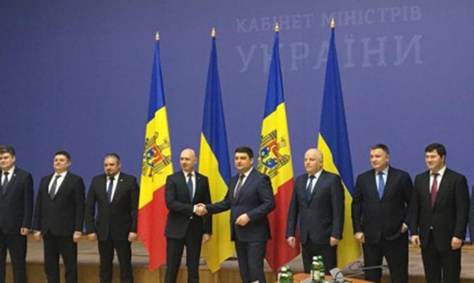 Премьеры Украины иМолдовы подписали меморандум осотрудничестве на этот 2017г