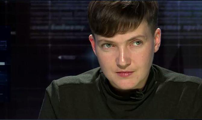 Из-за поездки вДонецк Надежде Савченко могут объявить подозрение