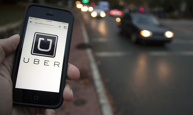 Сервис вызова такси Uber 30 марта появится в Днепре