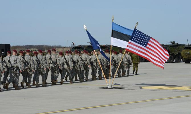 Истребители НАТО отработают полеты над Эстонией