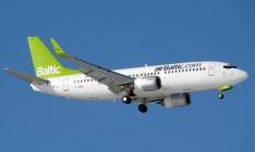 airBaltic возобновила полеты из Риги в Одессу