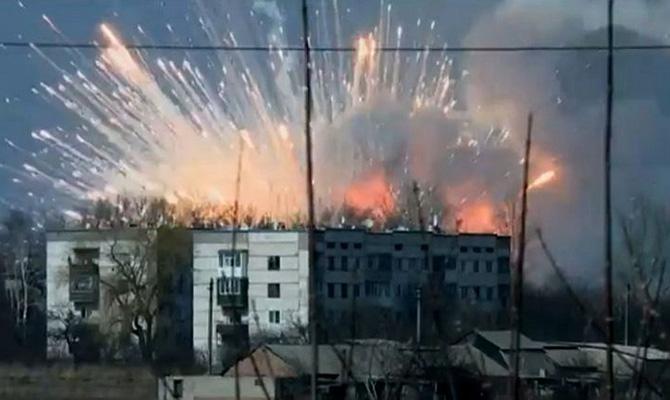 Пожар вБалаклее уничтожил 70 процентов боеприпасов
