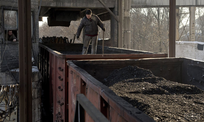 Сначала года Украина импортировала угля на570 миллионов долларов