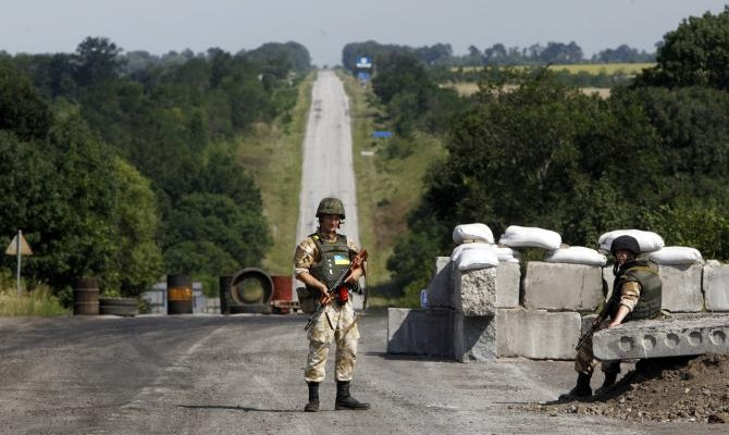 НаДонбассе боевики сорвали очередное разведение сил