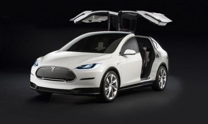 Новый электрокар Tesla Model 3 засветился на уличных тестах