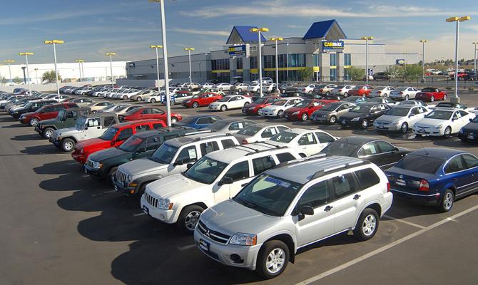 Украинский рынок подержанных авто вырос в4,5 раза