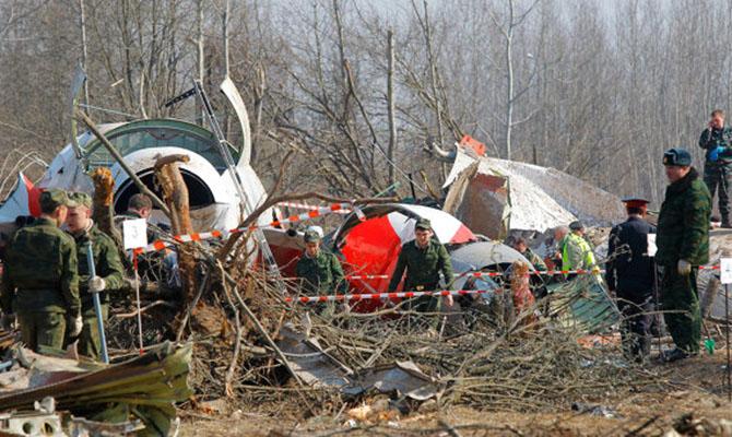 ВПольше афишировали сенсационные результаты расследования авиакатастрофы вСмоленске