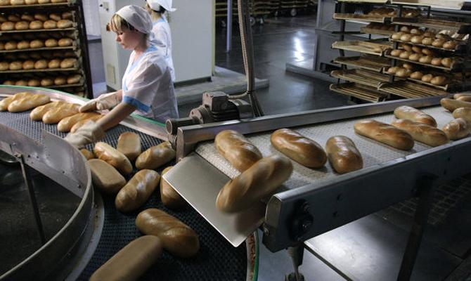 Хлебозаводы болезненно реагируют на падение рынка