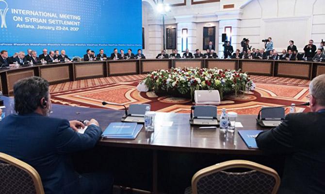 Сирийская оппозиция приостановила свое участие в переговорах в Астане