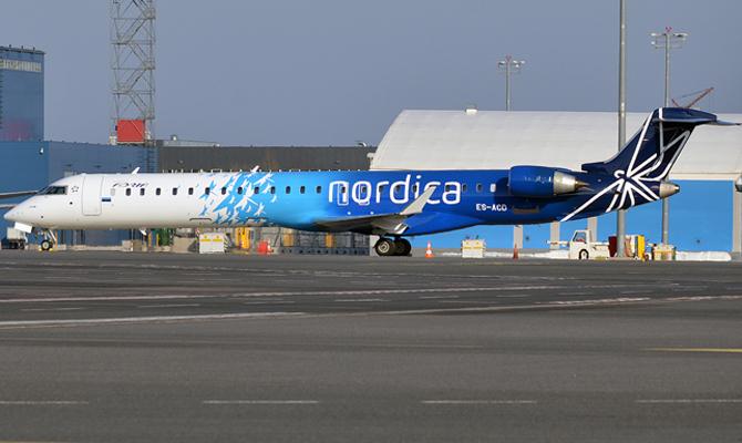 Эстонская авиакомпания открывает рейс «Таллинн— Одесса— Таллин»