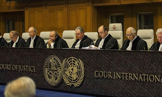 Сегодня суд ООН сегодня примет решение поиску Украины противРФ