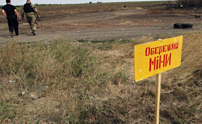 В «ДНР» намине подорвалась группа боевиков