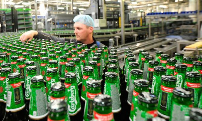 Украинское подразделение Carlsberg направит на выплату дивидендов 1 миллиард