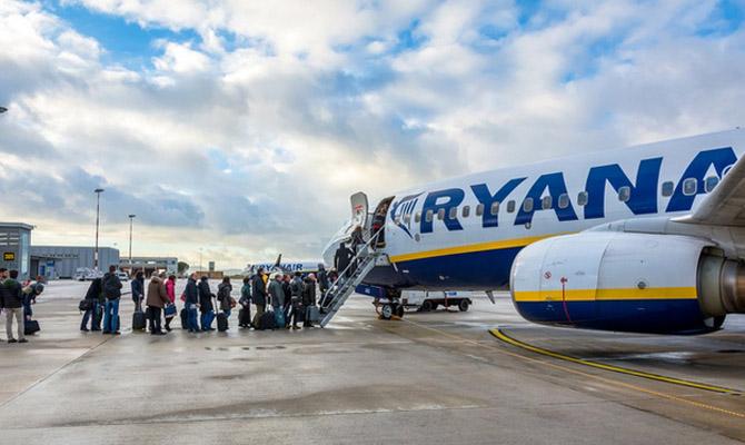 В2017 году Ryanair откроет рейс изЛьвова внемецкий Мемминген