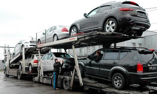 Импорт легковых автомобилей в Украину в первом квартале вырос почти на 80%