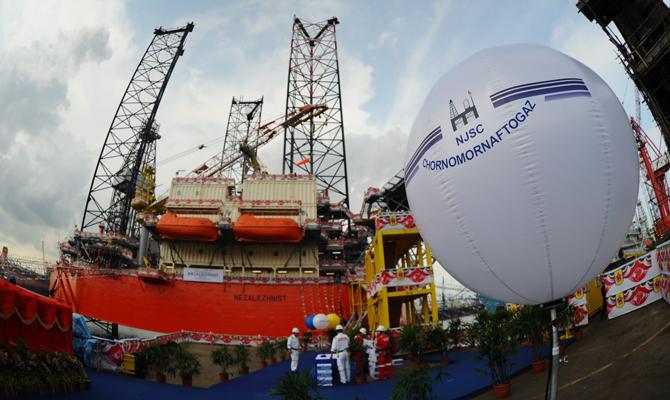 Рада ввела мораторий на банкротство государственного «Черноморнефтегаза»