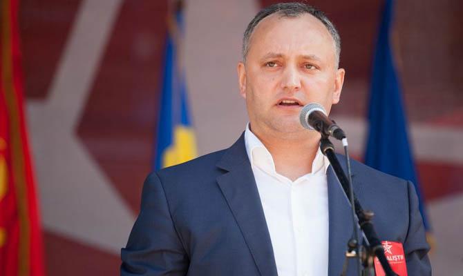 ВМолдавии оппозиция рассчитывает собрать подписи заимпичмент Додону