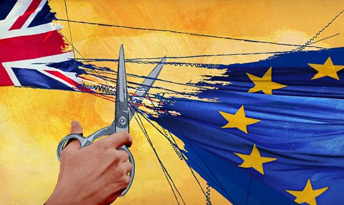 Вбританском руководстве допускают выход Великобритании изпереговоров поBrexit