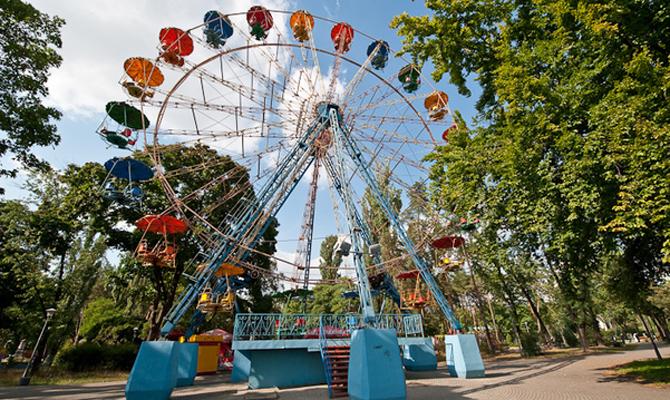 Киев начал реконструкцию Гидропарка, впланах— построить современный парк развлечений