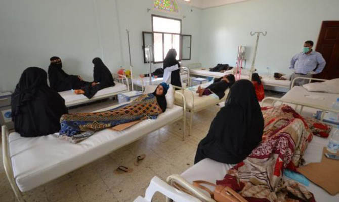 В Йемене зафиксированы почти 800 смертей от холеры